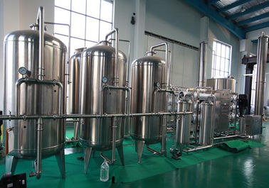 Long Warranty Liquid Filling Machine RO Water Treatment 1000-8000l / H Capacity